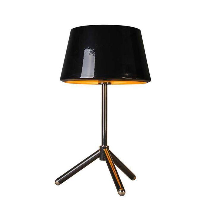 Lampe-de-table-Vegas-noire-et-dorée
