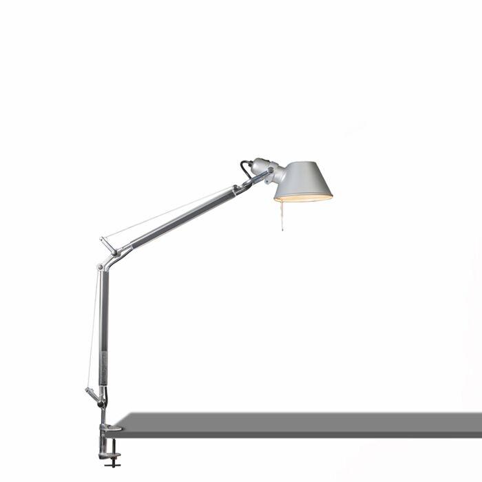 Lampe-de-table-Artemide-réglable---Mini-pince-Artemide-Tolomeo-tavolo