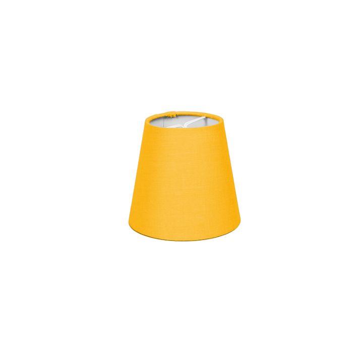 Abat-jour-pince-12cm-R-SC-jaune