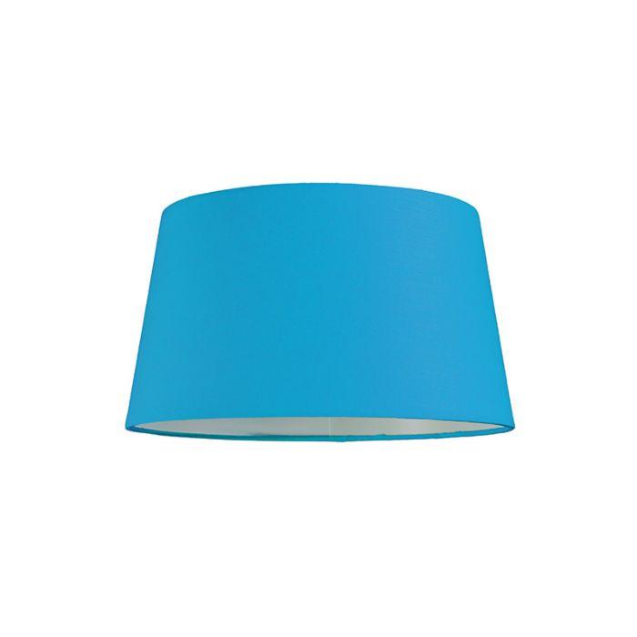Abat-jour-30cm-rond-SU-E27-bleu-clair