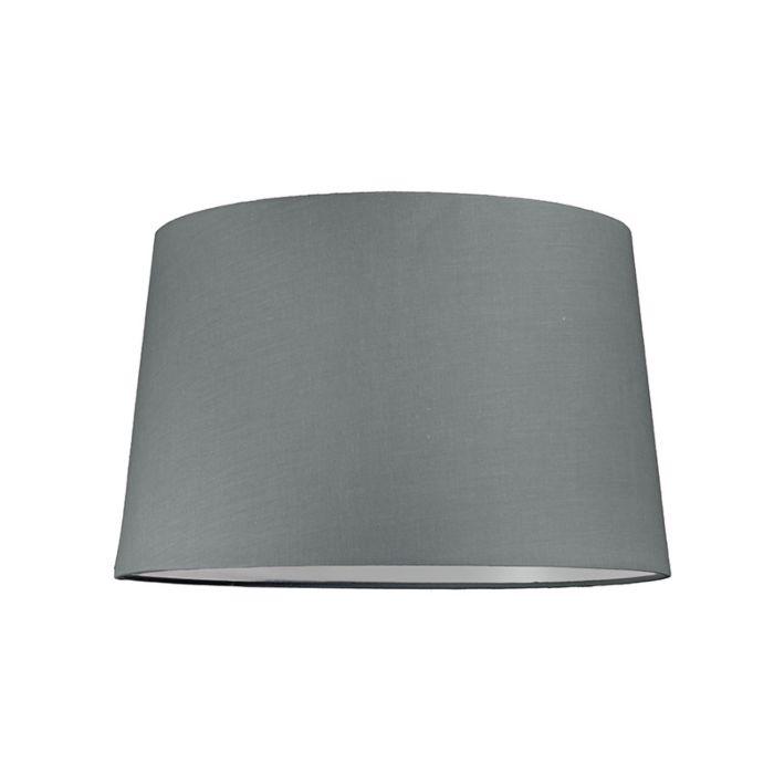 Abat-jour-40cm-rond-SU-E27-gris