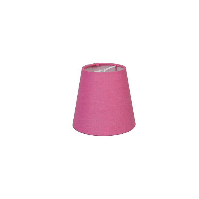 Abat-jour-pince-12cm-R-SC-rose