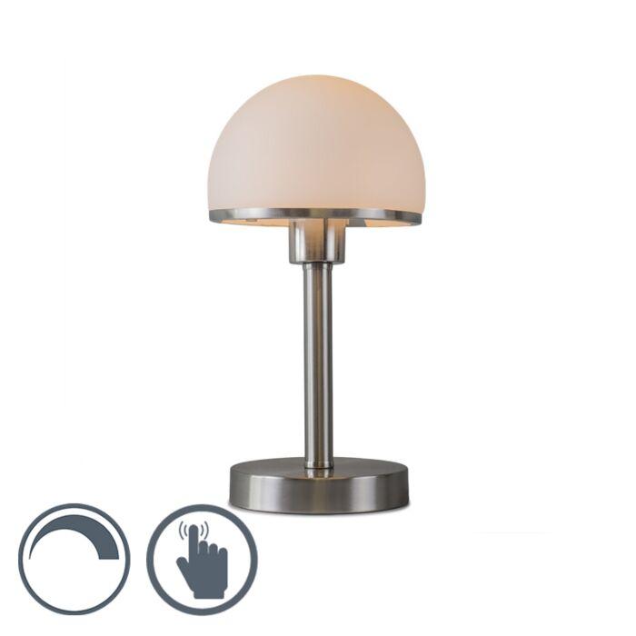 Lampe-de-table-Bauhaus-acier-Touch