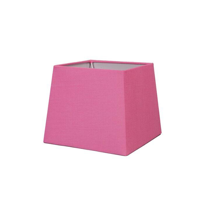 Abat-jour-18cm-carré-SD-E27-rose