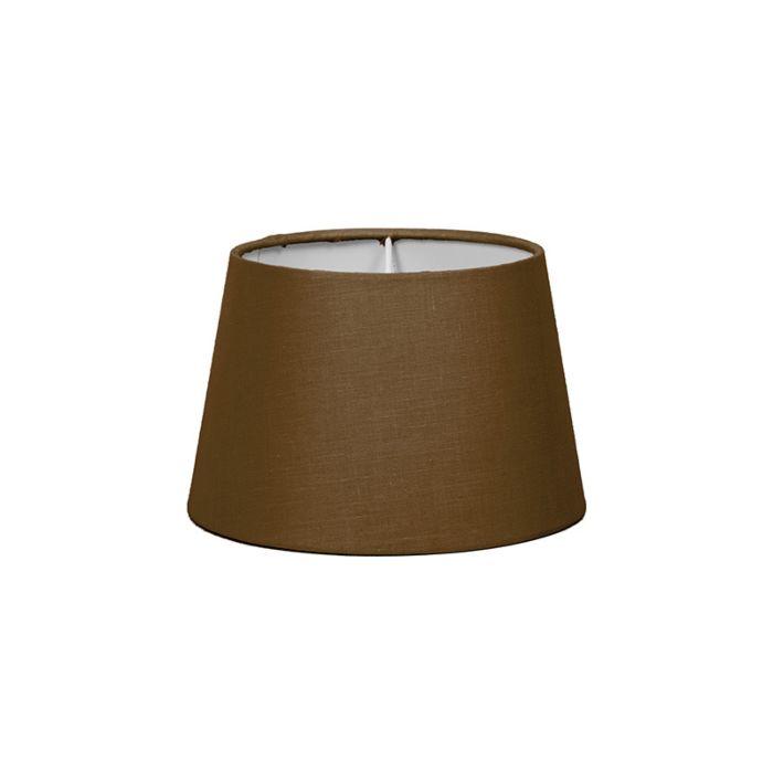 Abat-jour-18cm-rond-SD-E27-brun