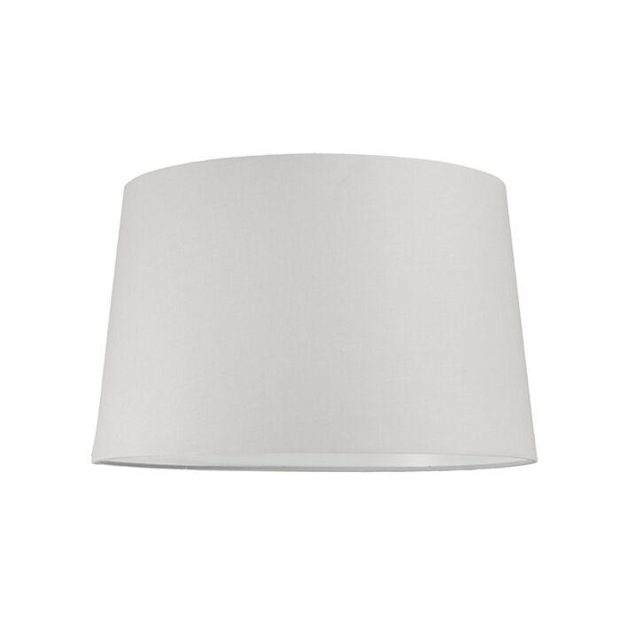 Abat-jour-40cm-rond-SU-E27-blanc