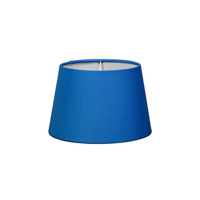 Abat-jour-18cm-rond-SD-E27-bleu