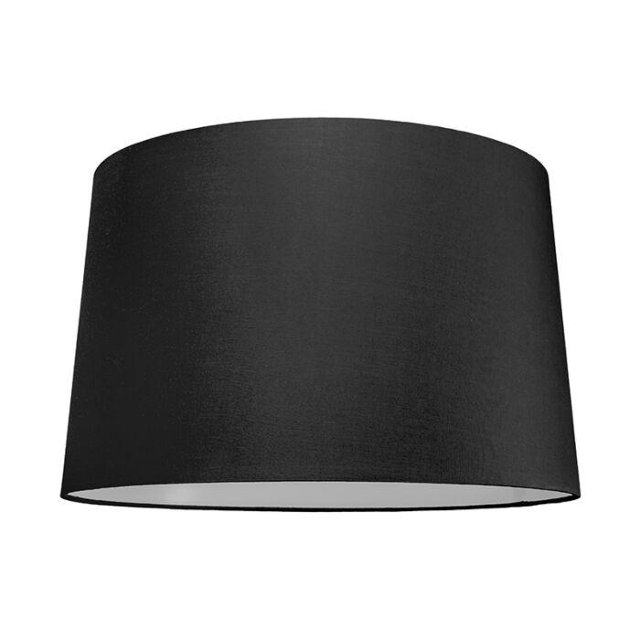 Abat-jour-50cm-rond-SU-E27-noir