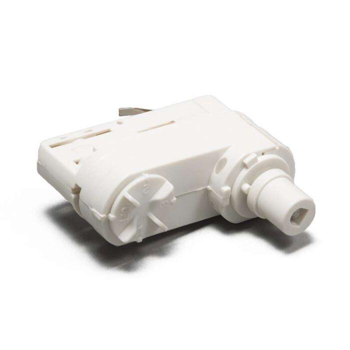 Suspension-adaptateur-pour-rail-3-phases-blanc