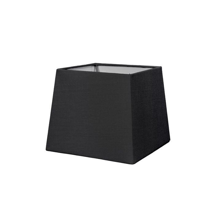 Abat-jour-18cm-carré-SD-E27-noir