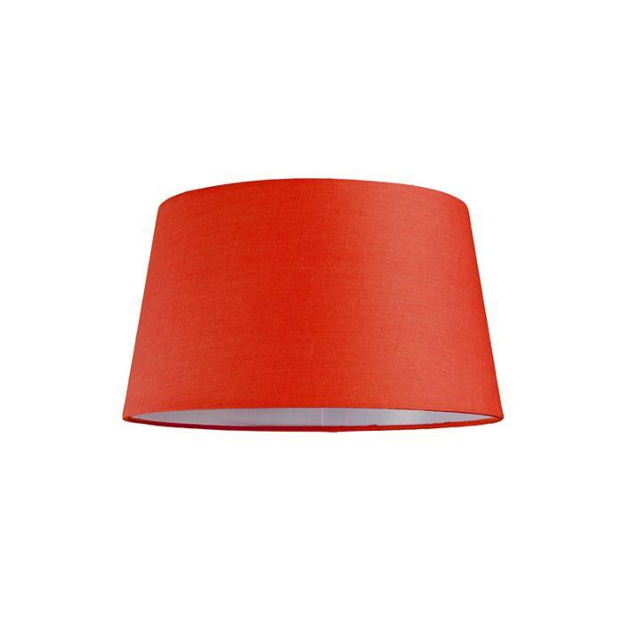 Abat-jour-30cm-rond-SU-E27-rouge