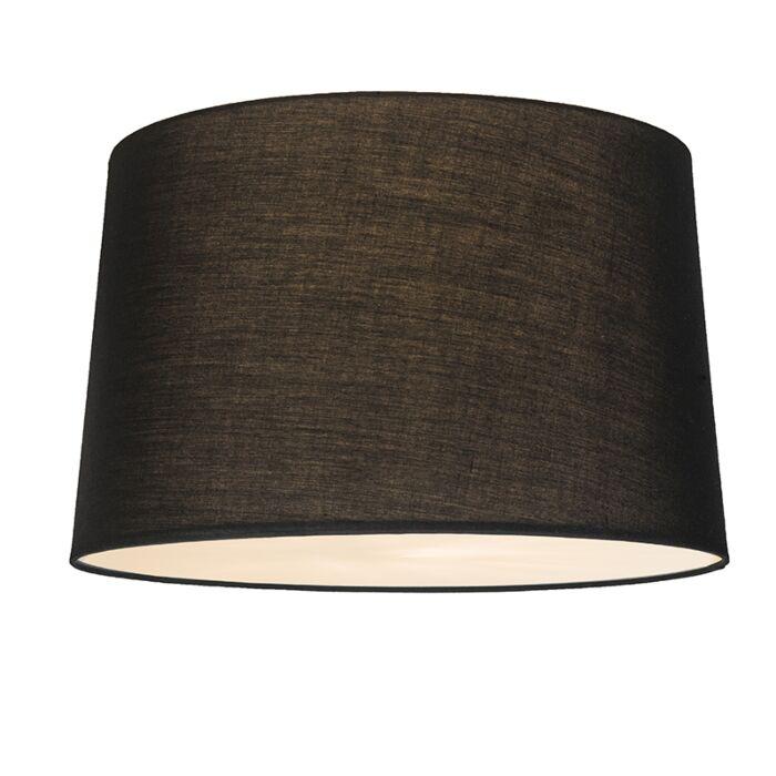 Plafonnier-Combi-50cm-noir-avec-tamiseur