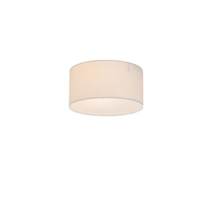 Plafonnier-Drum-Basic-20-blanc