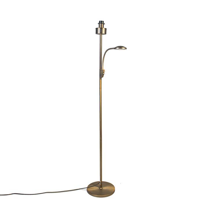 Lampadaire-Trento-bronze-combi