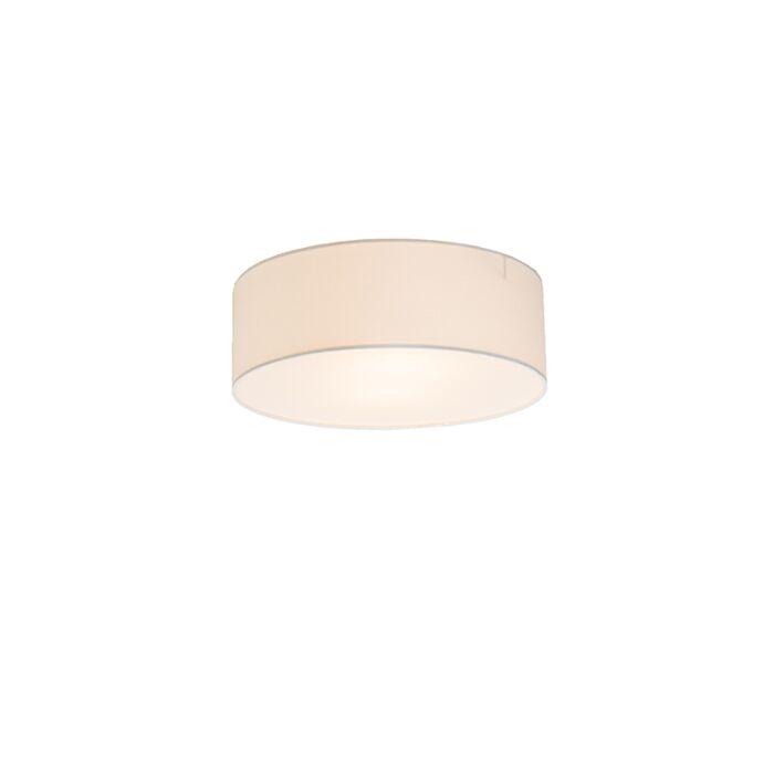 Plafonnier-Drum-Basic-30-blanc