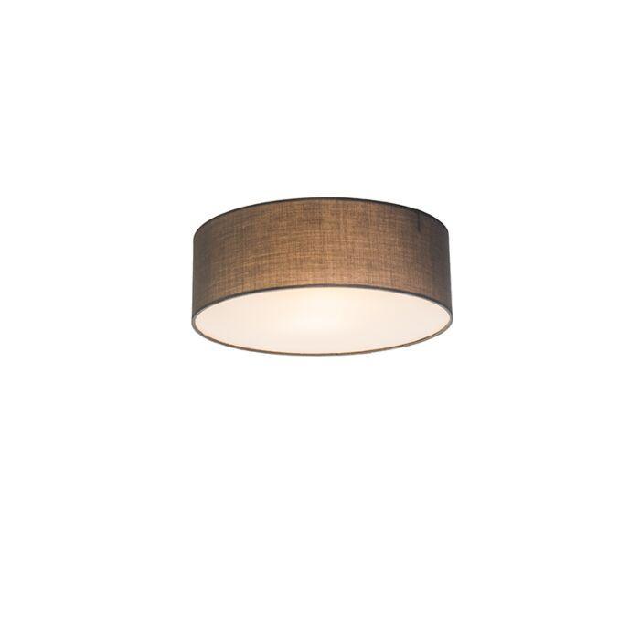 Plafonnier-Drum-Basic-30-gris