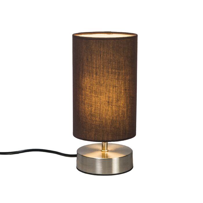 Lampe-de-table-Milo-2-rond-brun