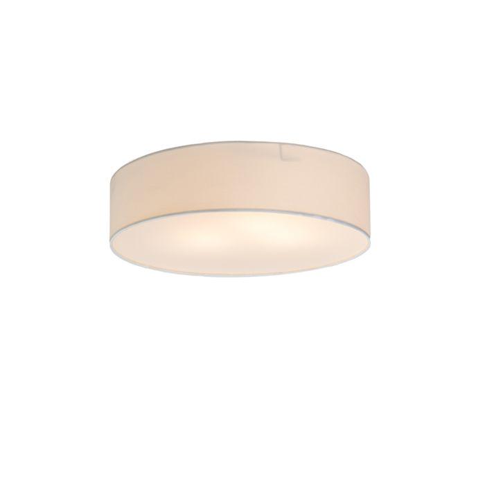 Plafonnier-Drum-Basic-40-blanc