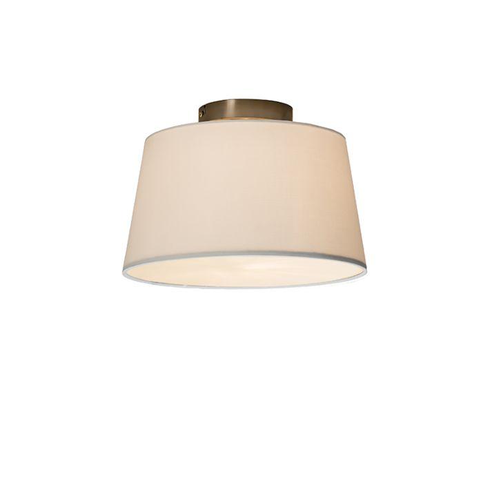 Plafonnier-Combi-30cm-blanc-avec-tamiseur