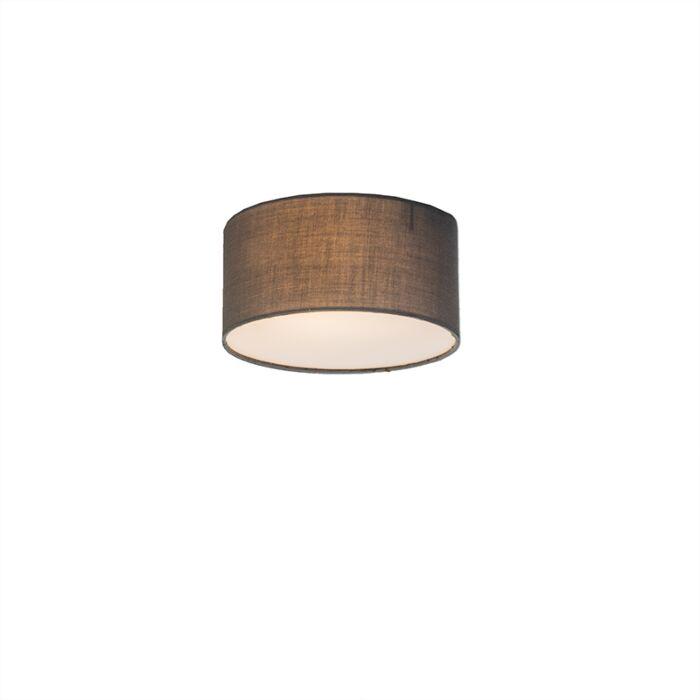 Plafonnier-Drum-Basic-20-gris