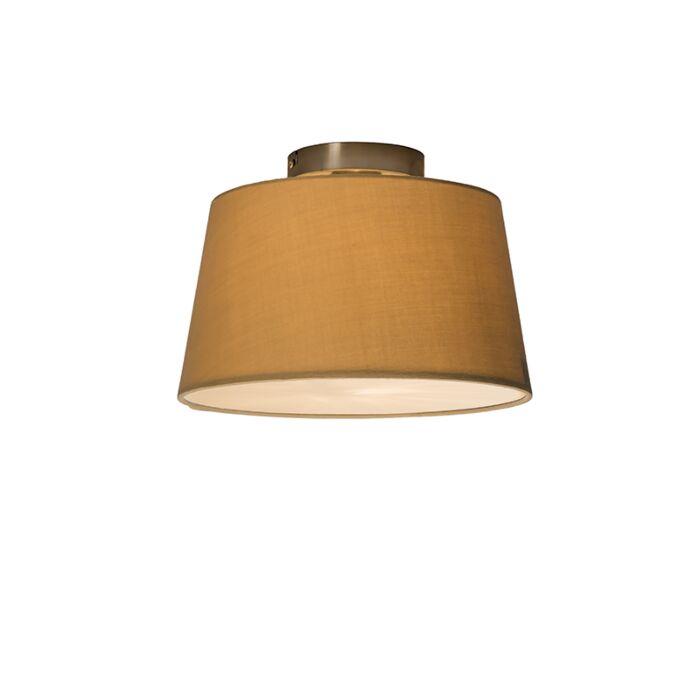 Plafonnier-Combi-30cm-beige-avec-tamiseur