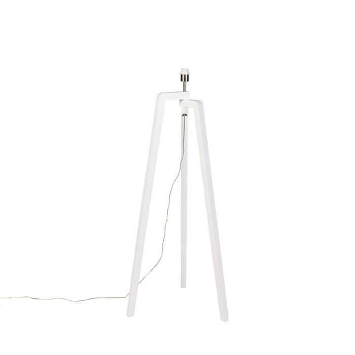 Lampadaire-moderne-blanc-sans-abat-jour---Puros