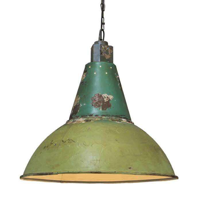 Suspension-Oxidise-vert-antique