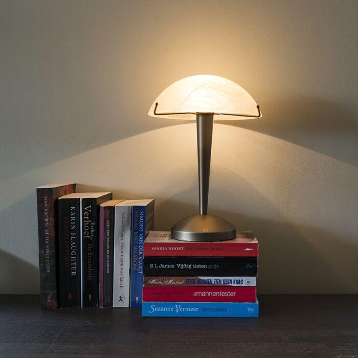 Lampe-de-table-tactile-en-bronze-Boletum