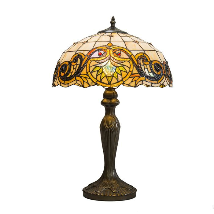 Lampe-de-table-Tiffany-Sunflower-40