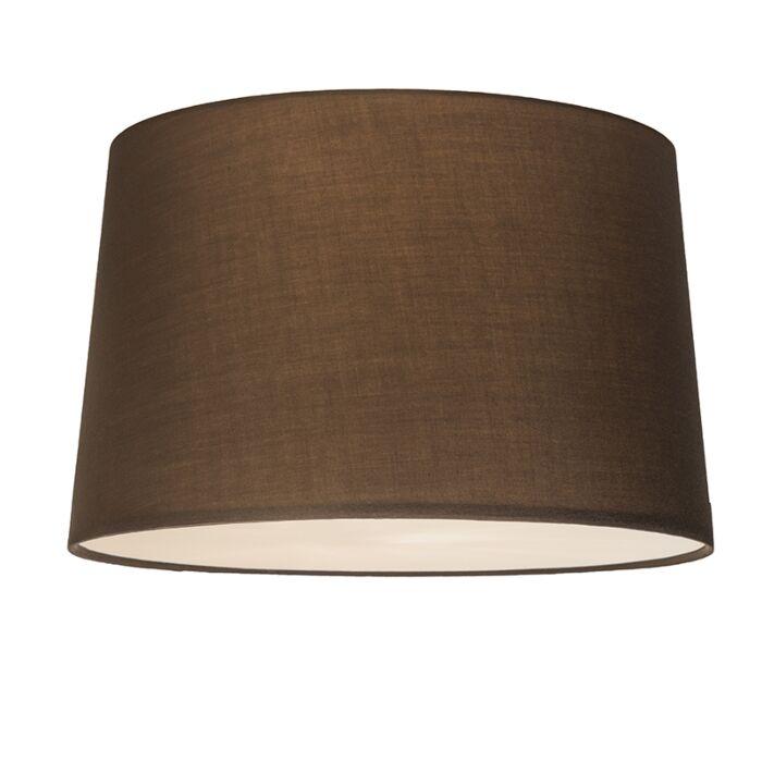Plafonnier-Combi-50cm-brun-avec-tamiseur