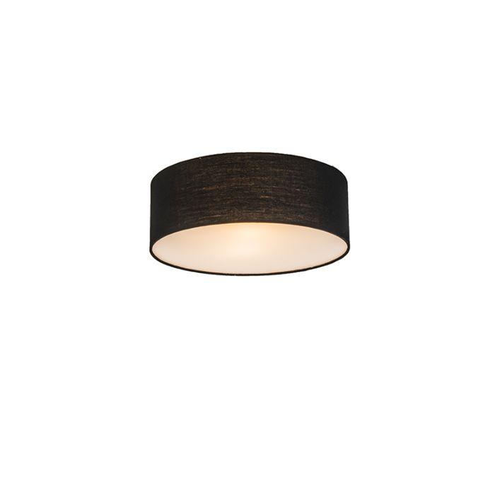 Plafonnier-Drum-Basic-30-noir