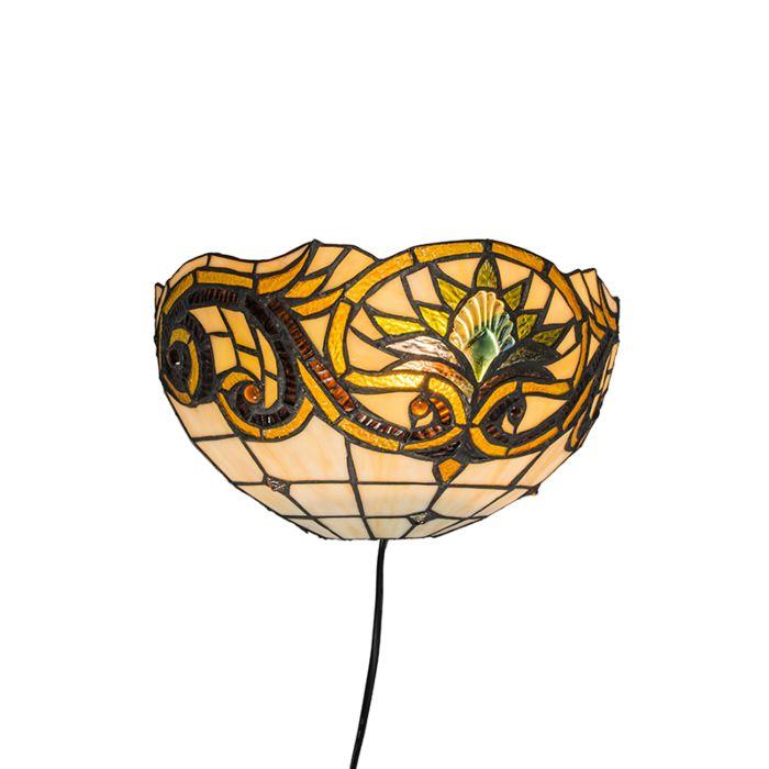 Applique-murale-Tiffany-Sunflower