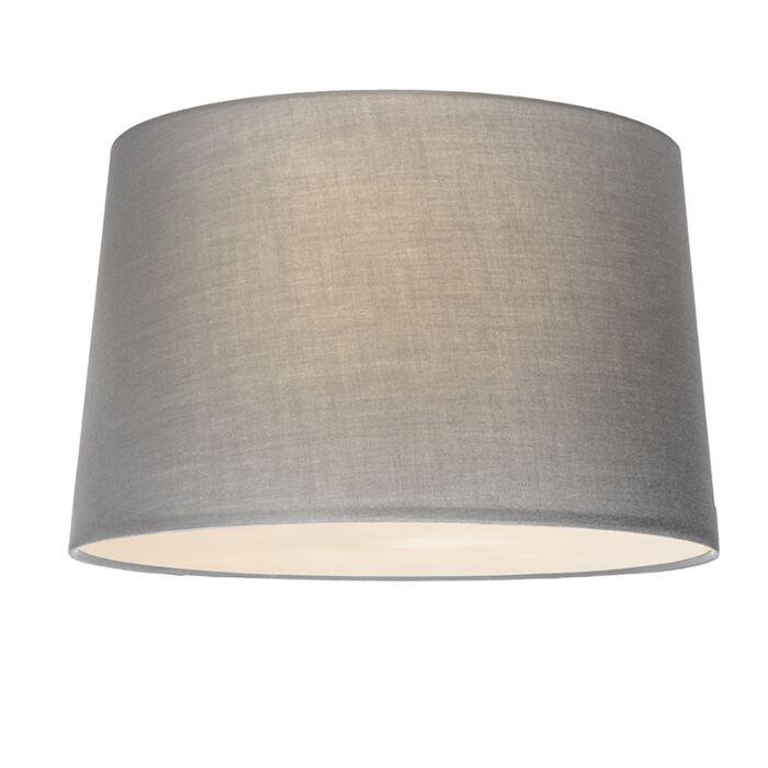 Plafonnier-Combi-50cm-gris-avec-tamiseur