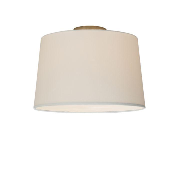 Plafonnier-Combi-40cm-blanc-avec-tamiseur