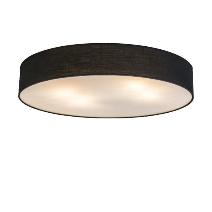 Plafonnier-Drum-Basic-60-noir