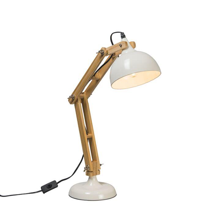 Lampe-de-table-Office-blanche