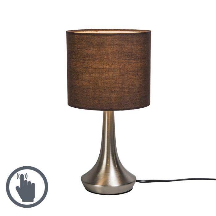 Lampe-de-table-Milo-1-rond-brun
