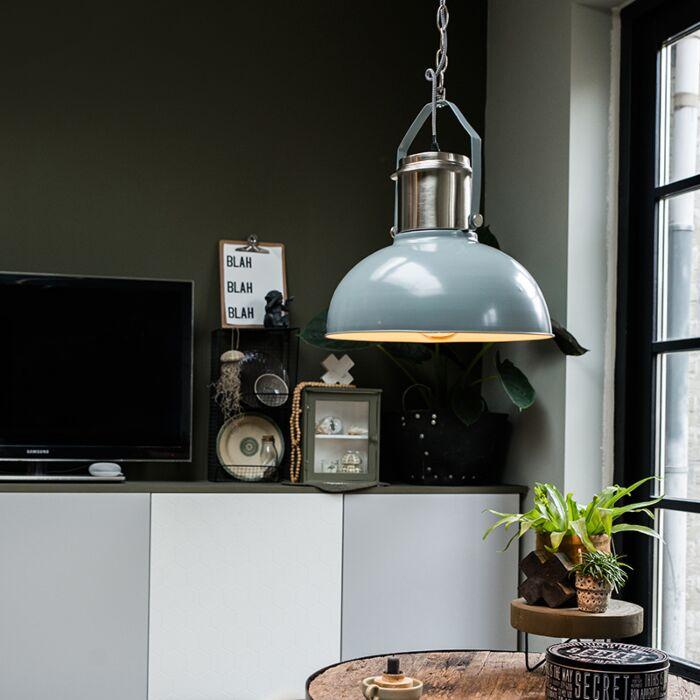 Lampe-à-suspension-industrielle-gris---Industriel-37