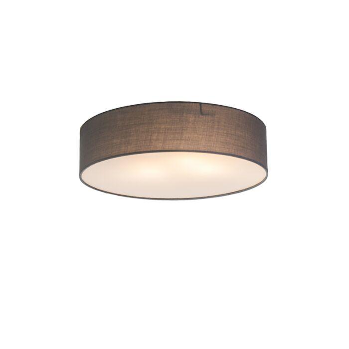 Plafonnier-Drum-Basic-40-gris