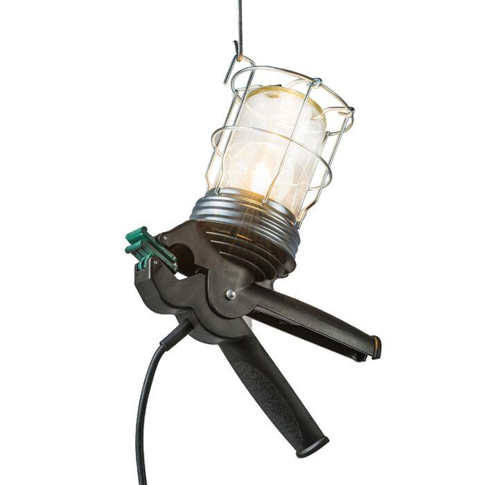 Lampe-de-travail-Pince-Squeeze-noire