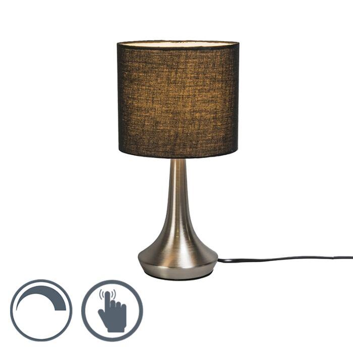 Lampe-de-table-Milo-1-rond-noire