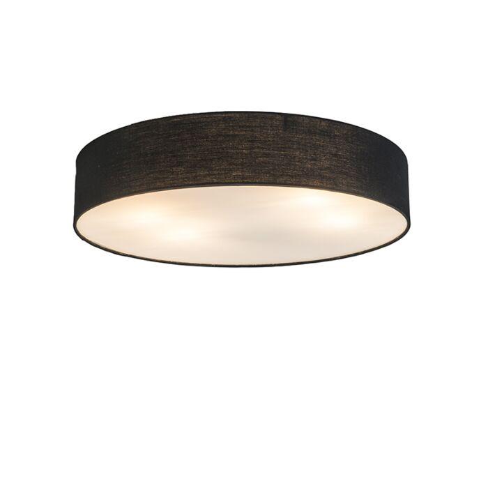 Plafonnier-Drum-Basic-50-noir
