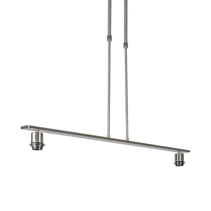 Suspension-Combi-2-Deluxe-acier-sans-abat-jour