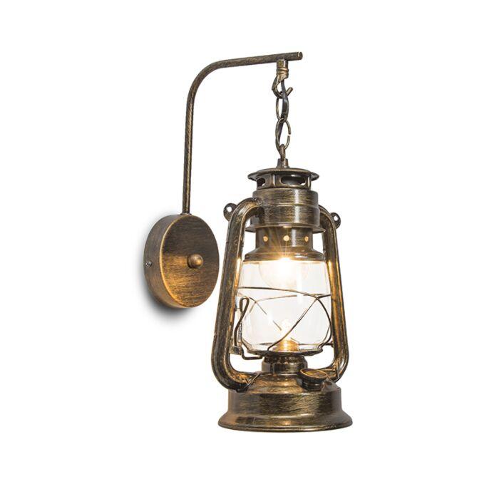 Lampe-murale-Laterna-or