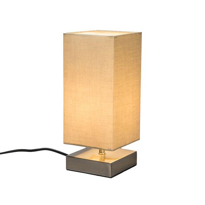 Lampe-de-table-Milo-carré-beige