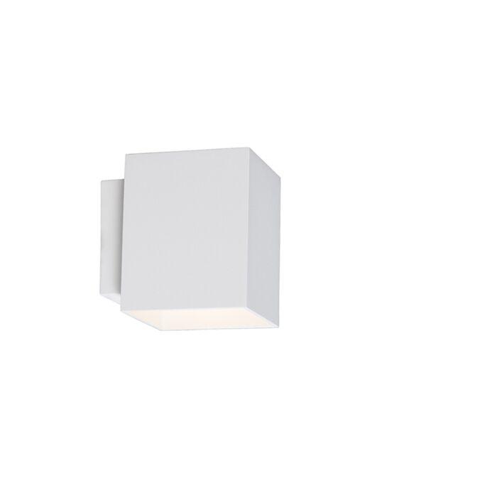 Applique-moderne-carrée-blanche---Sola