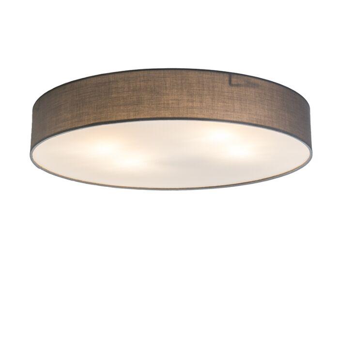 Plafonnier-Drum-Basic-60-gris