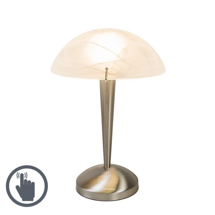 Lampe-de-table-tactile-acier-Boletum