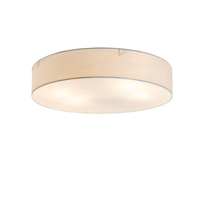 Plafonnière-Drum-Basic-50-blanc