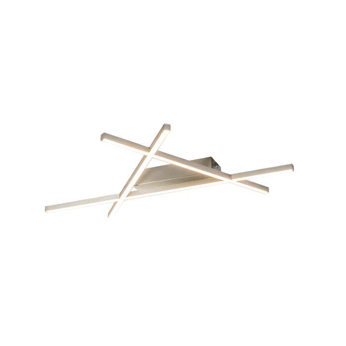 Pafonnière-design-en-acier-avec-LED---Mikado-Triangle